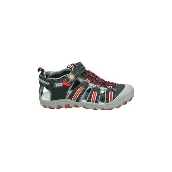 Buty Dziecko adidas Adidas Terrex AX2R Mid CP S80872 Buty trekkingowe dziecięce niebieskie w Spartoo