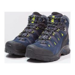 Buty trekkingowe męskie: Salomon QUEST PRIME GTX Buty trekkingowe navy blazer/ombre blue/lime punch