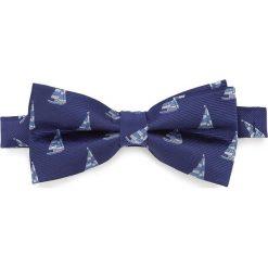 Mucha 87-7I-001-X6. Niebieskie muchy męskie marki Wittchen, z bawełny, eleganckie. Za 119,00 zł.