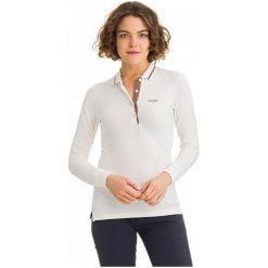 Galvanni Koszulka Polo Damska Melbourne M Biały. Białe bluzki longsleeves marki GALVANNI, m, polo. W wyprzedaży za 199,00 zł.