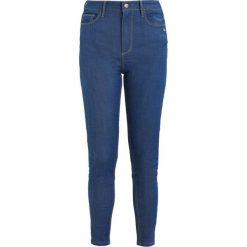 Monkee Genes JANE HIGH WAISTED SILHOUETTE Jeans Skinny Fit sea blue. Niebieskie jeansy damskie Monkee Genes. Za 479,00 zł.