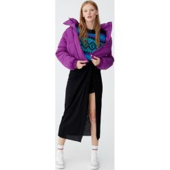 Spódnica midi z węzłem Join Life. Czarne spódniczki Pull&Bear, midi. Za 89,90 zł.