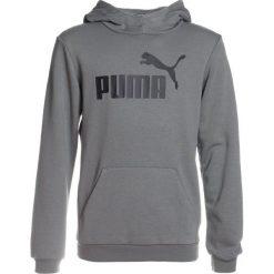 Puma ESS NO.1 HOODY Bluza z kapturem castor gray. Czerwone bluzy chłopięce rozpinane marki Puma, xl, z materiału. W wyprzedaży za 152,10 zł.