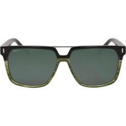 Zielono czarne okulary przeciwsłoneczne. Czarne okulary przeciwsłoneczne męskie lustrzane Kazar, z tworzywa sztucznego. Za 349,00 zł.