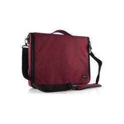 """MODECOM Torba do laptopa Torino czerwona 15,6"""" TOR-MC-TORINO-15-RED. Czerwone torby na laptopa Modecom, w paski, z materiału. Za 49,37 zł."""