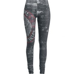 Rock Rebel by EMP Built For Comfort Legginsy czarny. Czarne legginsy we wzory Rock Rebel by EMP, xxl. Za 99,90 zł.