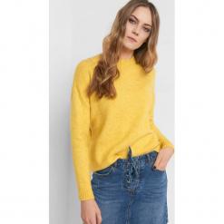 Sweter z wiązaniem z tyłu. Czarne swetry klasyczne damskie marki KIPSTA, m, z elastanu, z długim rękawem, na fitness i siłownię. Za 99,99 zł.