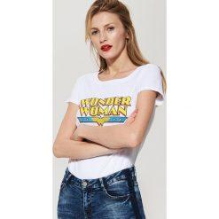 T-shirt Wonder Woman - Biały. Niebieskie t-shirty damskie marki House, m. Za 29,99 zł.