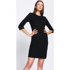 Czarna Sukienka In The Present. Czarne sukienki hiszpanki Born2be, l, mini, oversize. Za 79,99 zł.