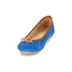 Baleriny Kickers  BAIE. Niebieskie baleriny damskie lakierowane Kickers. Za 247,20 zł.