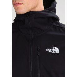 The North Face TANSA  Kurtka Softshell black. Szare kurtki sportowe męskie marki The North Face, l, z materiału, z kapturem. W wyprzedaży za 479,20 zł.