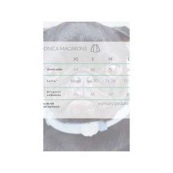 Spódnica Macarons cynamonowy. Brązowe spódniczki rozkloszowane Kozacki Mops, s, z tkaniny. Za 79,00 zł.