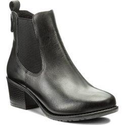 Botki LASOCKI - RST-KALA-02 Czarny1. Czarne buty zimowe damskie Lasocki, ze skóry, na obcasie. Za 199,99 zł.