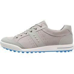 Ecco STREET RETRO Obuwie do golfa wild dove/dynasty. Szare buty do tenisa męskie ecco, z materiału. W wyprzedaży za 419,30 zł.