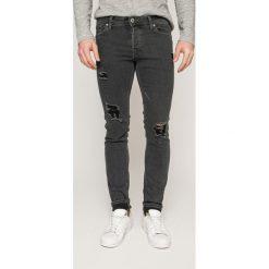 Jack & Jones - Jeansy Glenn. Białe jeansy męskie Jack & Jones, z bawełny. W wyprzedaży za 89,90 zł.