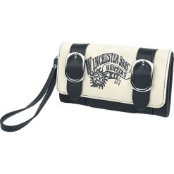 Supernatural Winchester Bros. Portfel czarny/biały. Białe portfele damskie Supernatural. Za 99,90 zł.