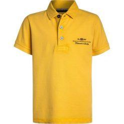 Napapijri ELBAS Koszulka polo yellow. Żółte bluzki dziewczęce bawełniane Napapijri, polo. Za 169,00 zł.