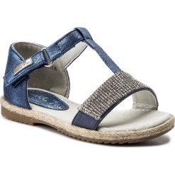 Sandały dziewczęce: Sandały NELLI BLU – CS17002-15 Granatowy