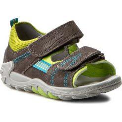 Sandały męskie skórzane: Sandały SUPERFIT – 0-00030-06 M Stone Kombi