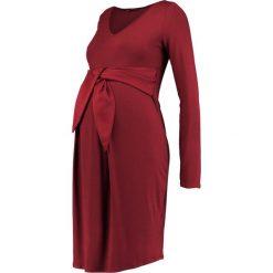 Sukienki hiszpanki: 9Fashion CETY Sukienka z dżerseju bordeaux
