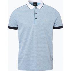 BOSS Athleisurewear - Męska koszulka polo – Paddy 2, niebieski. Niebieskie koszulki polo BOSS Athleisurewear, l. Za 429,95 zł.
