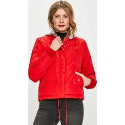 Tally Weijl - Kurtka. Czerwone kurtki damskie marki TALLY WEIJL, l, z dzianiny, z krótkim rękawem. Za 259,90 zł.