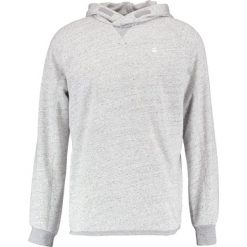 GStar CALOW RAGLAN HOODED SW L/S Bluza z kapturem grey heather. Szare bluzy męskie rozpinane marki G-Star, l, z bawełny, z kapturem. W wyprzedaży za 375,20 zł.