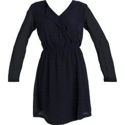 Sukienki hiszpanki: ICHI CANILLE Sukienka letnia total eclipse navy