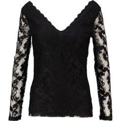 Bluzki damskie: Vila VISENNA Bluzka z długim rękawem black
