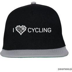 Czapki z daszkiem damskie: Czapka FullCap. I love cycling