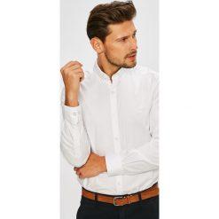 Lacoste - Koszula. Szare koszule męskie na spinki Lacoste, m, z bawełny, button down, z długim rękawem. W wyprzedaży za 369,90 zł.