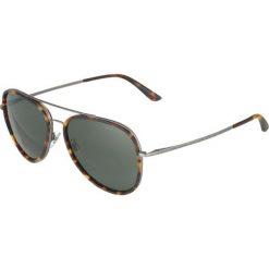 Okulary przeciwsłoneczne męskie aviatory: Giorgio Armani Okulary przeciwsłoneczne gunmetal