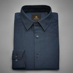 Koszula z żakardowej tkaniny - Turkusowy. Niebieskie koszule męskie marki Reserved, l. Za 139,99 zł.