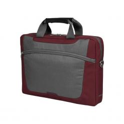 """Sumdex PON-318RD-1 15""""-16"""" czerwona. Czerwone torby na laptopa Sumdex, w paski. Za 89,00 zł."""