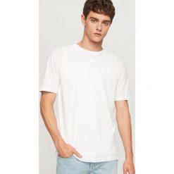 Odzież męska: Bawełniany t-shirt – Biały