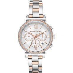 Zegarek MICHAEL KORS - Sofie MK6558 Silver/Sillver. Czerwone zegarki damskie Michael Kors. Za 1290,00 zł.