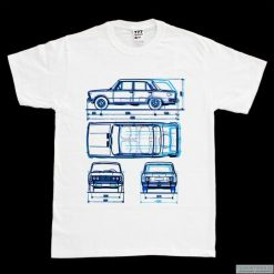 T-shirty męskie z nadrukiem: Koszulka FIAT 125 P