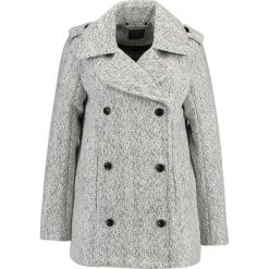 Abercrombie & Fitch Płaszcz wełniany /Płaszcz klasyczny light grey. Szare płaszcze damskie pastelowe Abercrombie & Fitch, m, z materiału, klasyczne. W wyprzedaży za 554,95 zł.