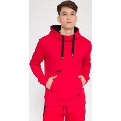 Bejsbolówki męskie: Bluza męska BLM212 - czerwony