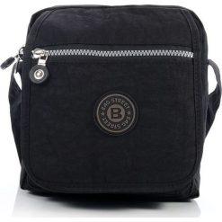 Torba męska typu KONDUKTORKA na ramię Czarna. Czarne torby na ramię męskie marki Bag Street, w paski, na ramię. Za 59,90 zł.