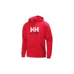 Swetry Helly Hansen  SUDADERA HH LOGO HODIE. Niebieskie swetry klasyczne męskie marki Helly Hansen. Za 285,82 zł.