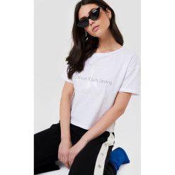 Calvin Klein T-shirt Teco 22 Crew Neck -. Szare t-shirty damskie Calvin Klein. Za 202,95 zł.