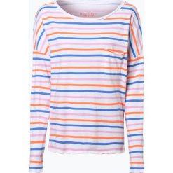 T-shirty damskie: Marc O'Polo Denim – Damska koszulka z długim rękawem, czarny