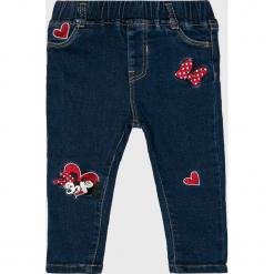 Blukids - Jeansy dziecięce 74-98 cm. Niebieskie rurki dziewczęce Blukids, z bawełny. Za 79,90 zł.