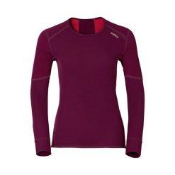 Odlo Koszulka tech. Odlo Shirt l/s crew neck X-WARM - 155161 - 155161XL. Brązowe topy sportowe damskie marki Odlo, l. Za 229,95 zł.