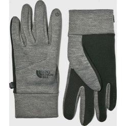 The North Face - Rękawiczki. Szare rękawiczki męskie marki The North Face, z dzianiny. W wyprzedaży za 119,90 zł.