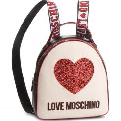 Plecak LOVE MOSCHINO - JC4116PP17L3100A  Nero/Avorio. Brązowe plecaki damskie marki Love Moschino, ze skóry ekologicznej. Za 779,00 zł.