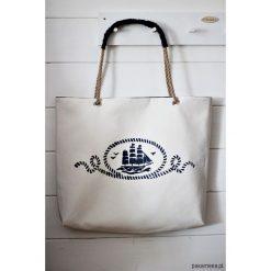 Torba z żaglowcem. Czarne torebki klasyczne damskie marki KIPSTA, m, z elastanu, z długim rękawem, na fitness i siłownię. Za 175,00 zł.