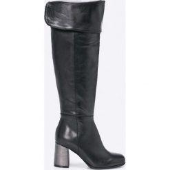 Bayla - Kozaki. Czarne buty zimowe damskie Bayla, z materiału. W wyprzedaży za 239,90 zł.