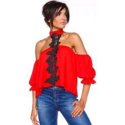 """T-shirty damskie: Koszulka """"Honolulu"""" w kolorze czerwonym"""